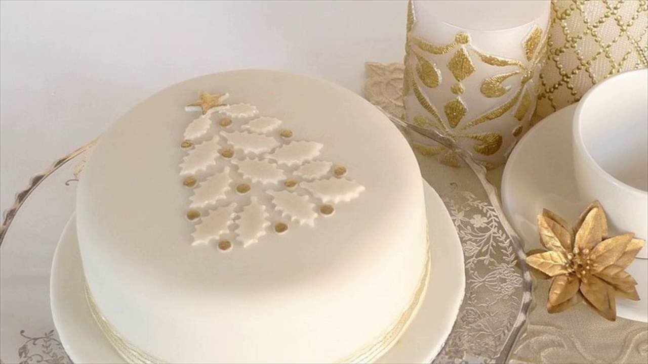 Easy Christmas Decorations For Cakes