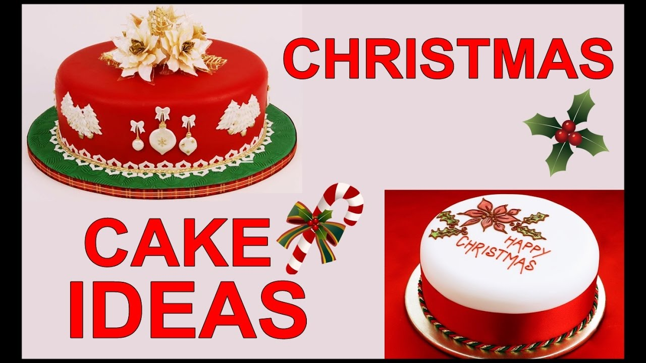 Cake Decorating Expo : Christmas Cake Decorating Ideas   Cooking Videos ...