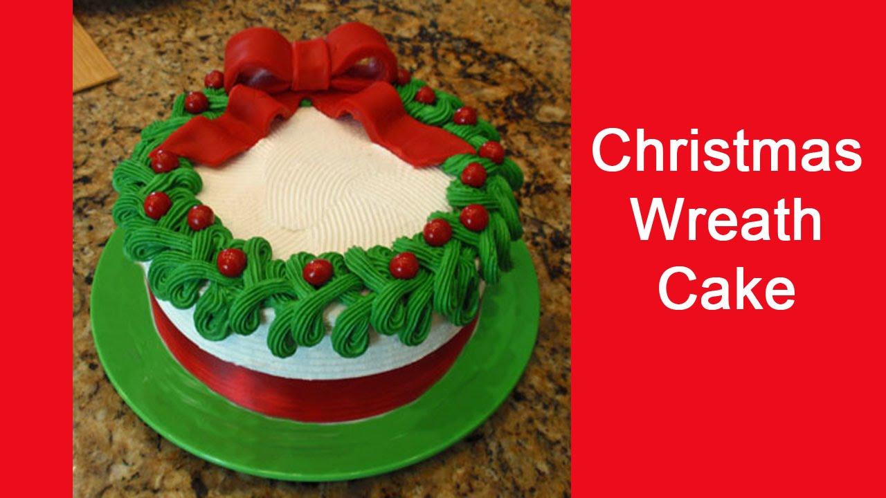 Xmas Cake Recipe In Malayalam: Christmas Wreath Cake