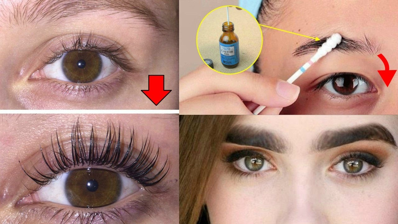 How To Grow Long - Thicker Eyelashes & Eyebrows In a Week ...