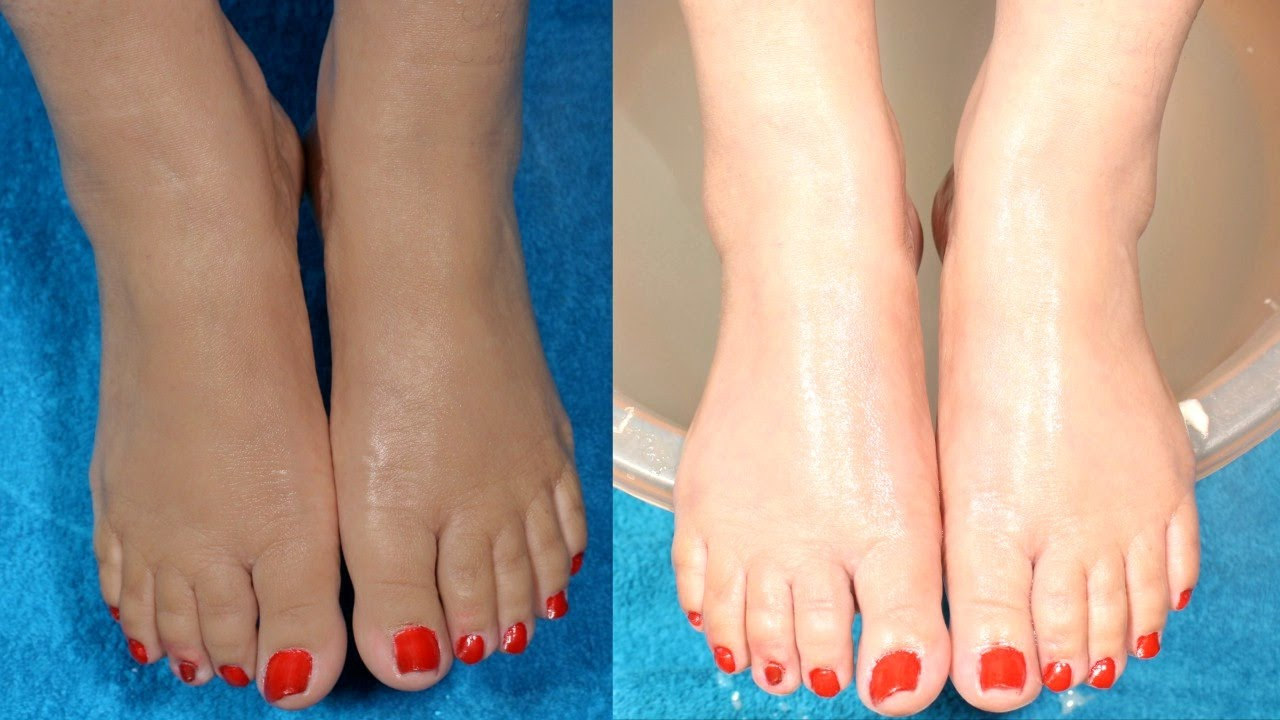 How To Make Your Feet Milky White Beautiful Naturally At