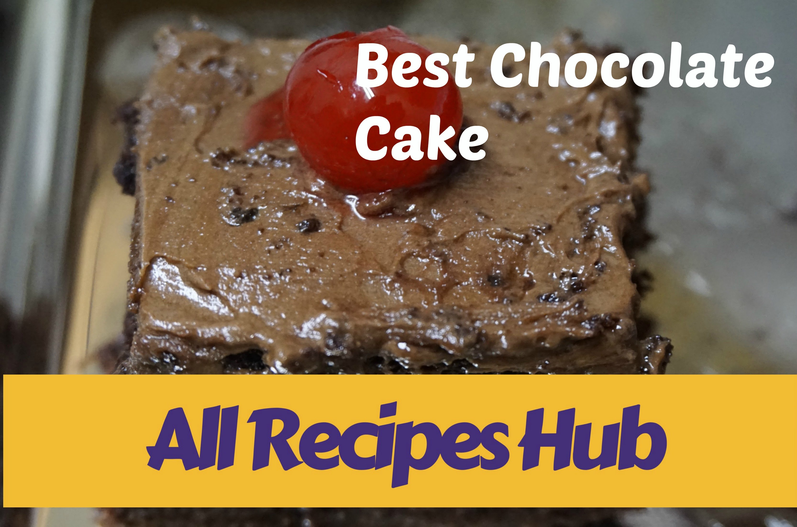 Cake Recipes In Malayalam Video: Best Chocolate Cake Ever