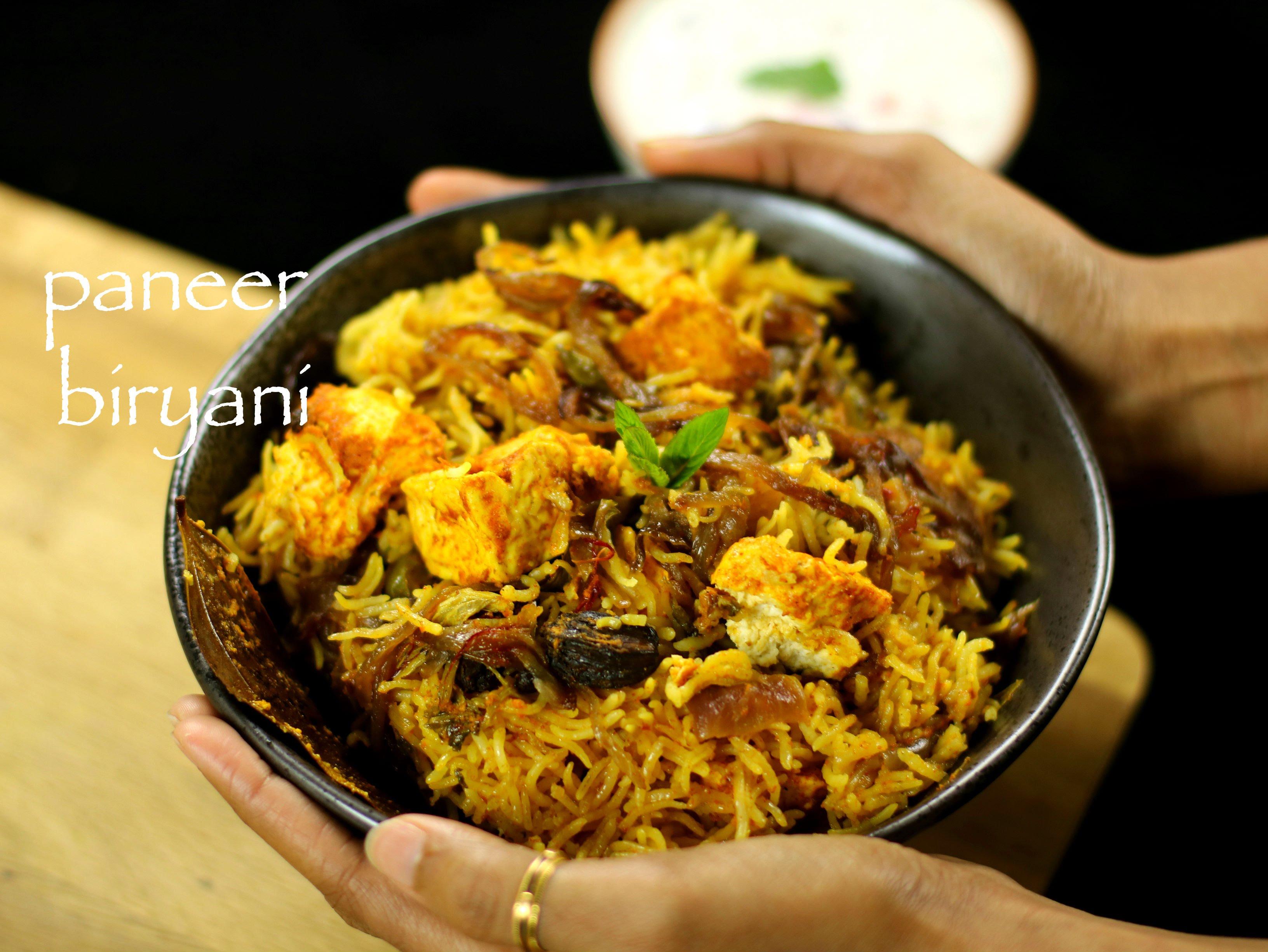 Paneer Biryani Recipe Easy Paner Biryani Recipe