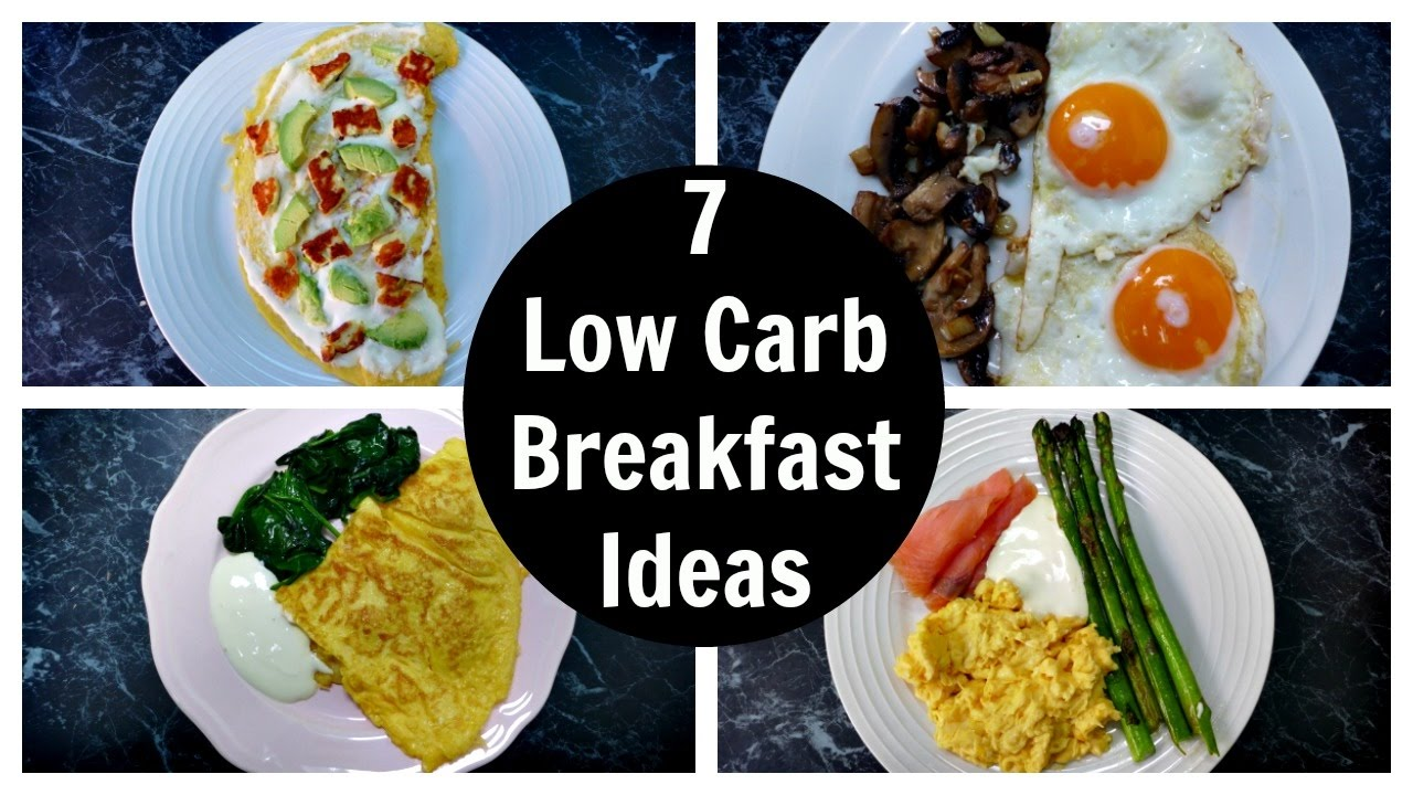 7 Low Carb Breakfast Ideas - A Week Of Keto Breakfast Recipes - CookeryShow.com