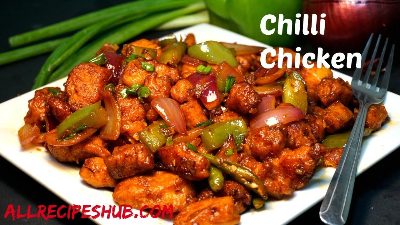 Chilli Chicken Dry Easy Chilli Chicken How To Make Chilli Chicken Cookeryshow Com