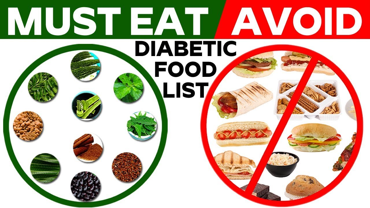 Diabetics Must Eat And Avoid Foods To